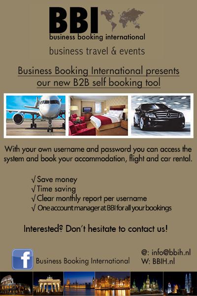 Advertentie hotelboekingssysteem nieuwsbrief Juni