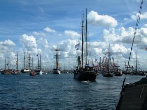 Sail Amsterdam, nieuwsbrief augustus
