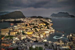 Alesund Norway, blog augustus