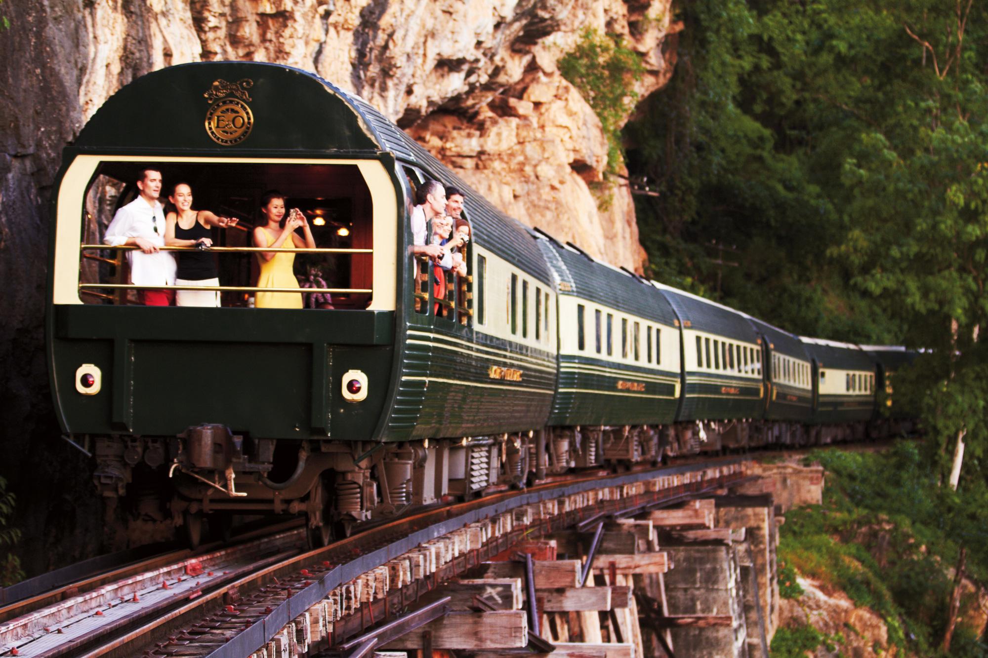 5x Luxe treinreizen