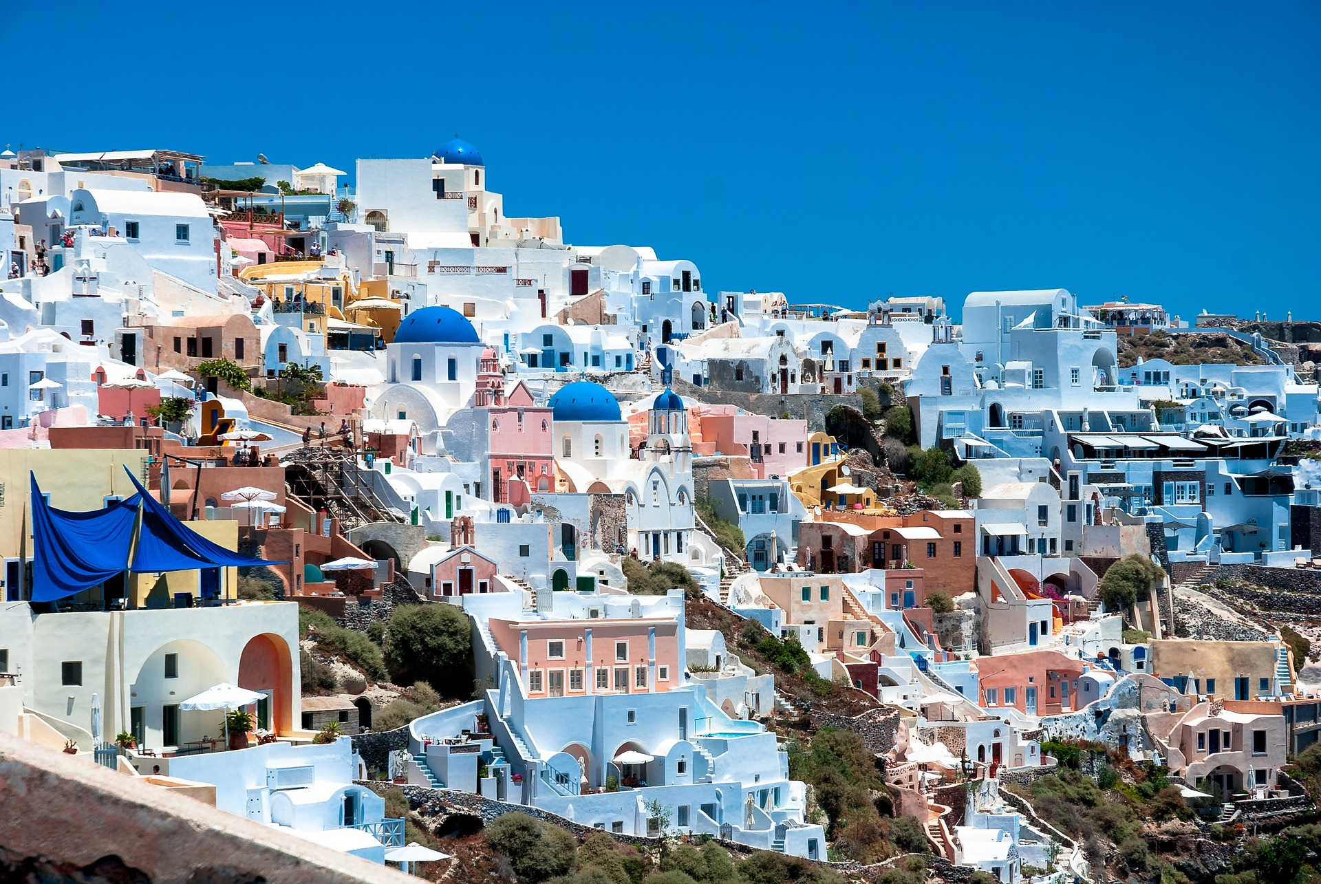 5 redenen om Santorini te bezoeken